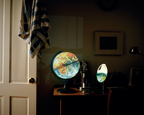 Globe by Rachel Hulin